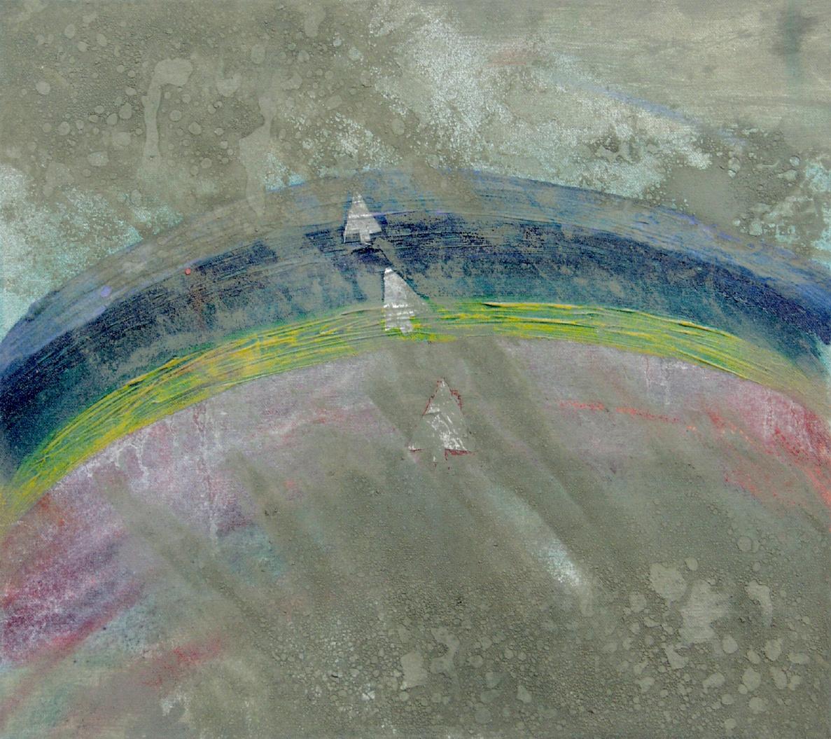 Francesca Cho: Fundamental Elementals, 2001. Oil on canvas, 54x59cm