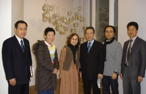 Counsellor Kim, Bada Song, Soon Yul kang, Ambassador Choo, Hyun Jun Kim, Director Won Younggi