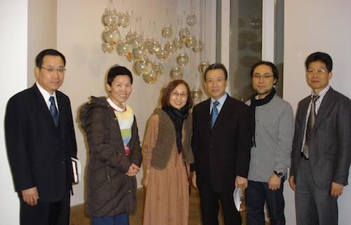 Counsellor Kim, Bada Song, Soon Yul kang, Ambassador Choo, Hyun Jun Kim, Director Won Younggi