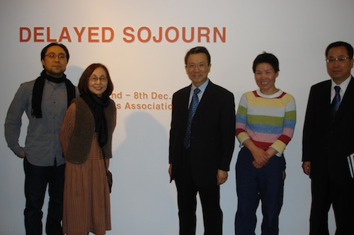 Hyun Jun Kim, Soon Yul Kang, Ambassador Choo Kyu Ho , Bada Song and Counsellor Kim Changjin