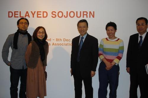 Hyun Jun Kim, Soon Yul Kang, Ambassador Choo Kyu Ho , Bada Song and Counsellor Kim Changjin