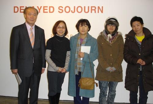 Minister & DHM Chong-Weon SHIN, Soon Yul Kang, Consular Hwang Myung Hee, Unmi Li, Bada Song