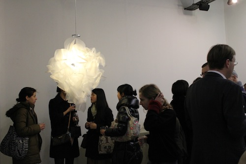 People at the private view