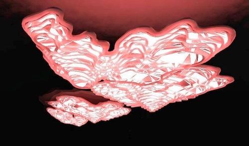 Hyunjun Kim & Taeyoung Kim: Lightscape. Installation, back-illuminated perspex