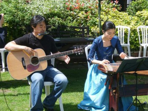 KAYA - Ji Eun Jung (kayageum) and Sung Min Jeon (acoustic guitar)