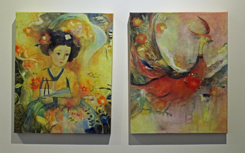 Eunjung Feleppa: The Ghosts of the Flowers Lean towards the Light (2012); We Dreamed of the Jujak (2012).