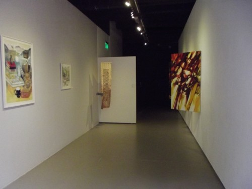 Exhibition View: Eun Jung Seo Feleppa (Left), Sook Hee Kwon (Middle), Ha Neul Shin (Right)