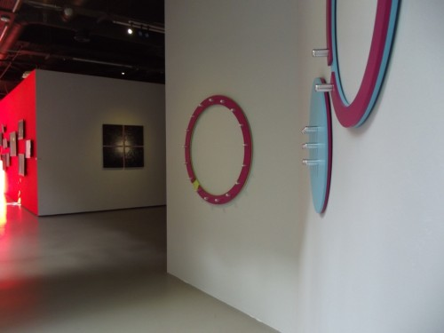 Exhibition View: Soon Yul Kang (Right), Jeong Min Moon (Middle), See Hee Kim (Far left)
