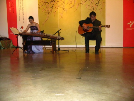 Ji-eun Jung and Sung-min Jeon (photo: David Kilburn)