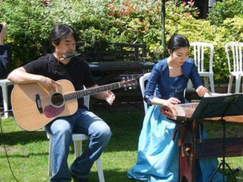KAYA - Ji Eun Jung (kayageum) and Sung Min Jeon (acoustic guitar)
